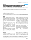 """Báo cáo y học: """"Haemofiltration in newborns treated with extracorporeal membrane oxygenation: a case-comparison study"""""""