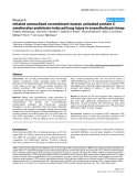 """Báo cáo y học: """"Inhaled aerosolised recombinant human activated protein C ameliorates endotoxin-induced lung injury in anaesthetised sheep"""""""