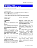 "Báo cáo y học: ""Diagnostic techniques for ventilator-associated pneumonia: Conflicting results from two trials"""