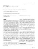 """Báo cáo y học: """"Procalcitonin: seeking a niche"""""""