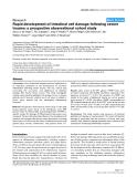 "Báo cáo y học: ""Rapid development of intestinal cell damage following severe trauma: a prospective observational cohort study"""