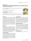"""Báo cáo y học: """"Infectious Disease: Pathogenesis, Prevention, and Case Studies"""""""