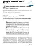 "Báo cáo y học: ""Does reservoir host mortality enhance transmission of West Nile virus?"""