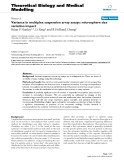 """Báo cáo y học: """" Variance in multiplex suspension array assays: microsphere size variation impact"""""""
