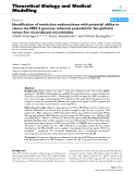 """Báo cáo y học: """"  Identification of restriction endonuclease with potential ability to cleave the HSV-2 genome: inherent potential for biosynthetic versus live recombinant microbicides"""""""