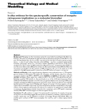 """Báo cáo y học: """"In silico evidence for the species-specific conservation of mosquito retroposons: implications as a molecular biomarker"""""""
