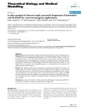 "Báo cáo y học: "" In silico analysis of chimeric espA, eae and tir fragments of Escherichia coli O157:H7 for oral immunogenic applications"""