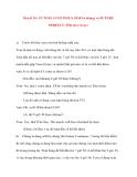 Bài số 10 : FUTURE CONTINOUS