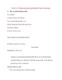 Bài số 16 : Thì hiện tại hoàn thành tiếp diễn (1)