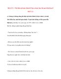 Bài số 21 : Thì hiện tại hoàn thành (I have done) hay thì quá khứ đơn (I did) Phần 2