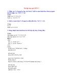 Bài tập hợp ngữ MIPS 2
