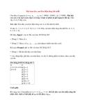 Bài toán dãy con đơn điệu tăng dài nhất