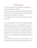 Lịch sử về Đô đốc Bùi Thị Xuân