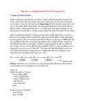 Khai báo và sử dụng danh sách liên kết trong Pascal