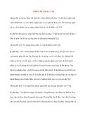 Y học cổ truyền kinh điển - sách Linh Khu: THIÊN 28: KHẨU VẤN