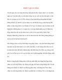 Y học cổ truyền kinh điển - sách Linh Khu: THIÊN 7: QUAN CHÂM