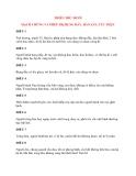 Y học cổ truyền kinh điển - sách Kim Quỹ: THIÊN THỨ MƯỜI MẠCH CHỨNG VÀ PHÉP TRỊ BỤNG ĐẦY, HÀN SÁN, TÚC THỰC