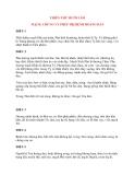 Y học cổ truyền kinh điển - sách Kim Quỹ: THIÊN THỨ MƯỜI LĂM MẠCH, CHỨNG VÀ PHÉP TRỊ BỆNH HOÀNG ĐẢN
