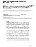 "Báo cáo y học: ""Association of nail biting and psychiatric disorders in children and their parents in a psychiatrically referred sample of children"""