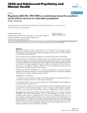 """Báo cáo y học: """" Regulation (EC) No 1901/2006 on medicinal products for paediatric use & clinical research in vulnerable populations"""""""