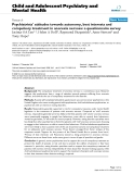 "Báo cáo y học: ""Psychiatrists' attitudes towards autonomy, best interests and compulsory treatment in anorexia nervosa: a questionnaire survey"""