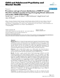 """Báo cáo y học: """"Prevalence and age-of-onset distributions of DSM IV mental disorders and their severity among school going Omani adolescents and youths: WMH-CIDI findings"""""""