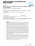 """Báo cáo y học: """"Martial arts as a mental health intervention for children? Evidence from the ECLS-K"""""""