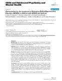 "Báo cáo y học: ""Atomoxetine for the treatment of Attention-Deficit/Hyperactivity Disorder (ADHD) in children with ADHD and dyslexia"""