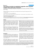"""Báo cáo y học: """"The change and effect of endothelial progenitor cells in pig with multiple organ dysfunction syndromes"""""""