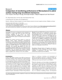 "Báo cáo y học: ""Comparison of monitoring performance of Bioreactance vs. pulse contour during lung recruitment maneuvers"""