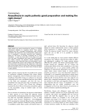 """Báo cáo y học: """"Anaesthesia in septic patients: good preparation and making the right choice"""""""