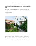 Bình dị căn nhà vùng ngoại ô