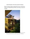 Ngôi nhà thân thiện với môi trường trong kiến trúc Singapore Kiến trúc xanh ngày