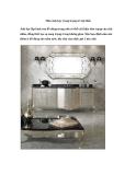 Màu ánh bạc trong trang trí nội thất