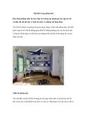 Nội thất trong phòng bé