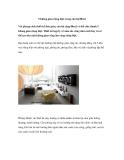 5 không gian riêng biệt trong căn hộ 80m2