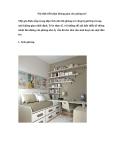 Nội thất tiết kiệm không gian cho phòng trẻ