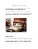 Xu hướng màu sắc phòng ngủ năm 2011