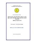 Luận văn: Tiềm năng thị trường cho vay du học đối với học sinh trường THPT Chuyên Thoại Ngọc Hầu