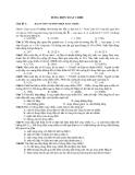 Chủ đề 1 : ĐẠI CƯƠNG VỀ DÒNG ĐIỆN XOAY CHIỀU