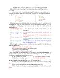 Chủ đề 3: Dòng điện xoay chiều trong đoạn mạch không phân nhánh