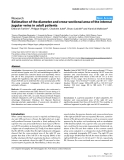 "Báo cáo y học: ""Estimation of the diameter and cross-sectional area of the internal jugular veins in adult patients"""