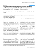 """Báo cáo y học: """"Duration of red blood cell storage and outcomes in pediatric cardiac surgery: an association found for pump prime blood"""""""