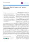 "Báo cáo y học: ""Influenza and bacterial pneumonia – constant companions"""