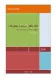 Giáo trình - Tìm hiểu Microsoft Office 2007 - Tập 1 - Lê Văn Hiếu - 1