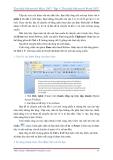 Giáo trình - Tìm hiểu Microsoft Office 2007 - Tập 1 - Lê Văn Hiếu - 2