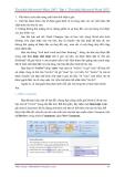 Giáo trình - Tìm hiểu Microsoft Office 2007 - Tập 1 - Lê Văn Hiếu - 4