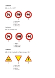 Câu hỏi trắc nghiệm an toàn giao thông - Nguyễn đình Sắc - 3