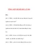 Bộ đề thi môn thuế 1