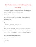 Bài 6: Các thuộc tính của font chữ và định nghĩa font chữ cho văn bản